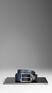 London Leather Reversible Belt