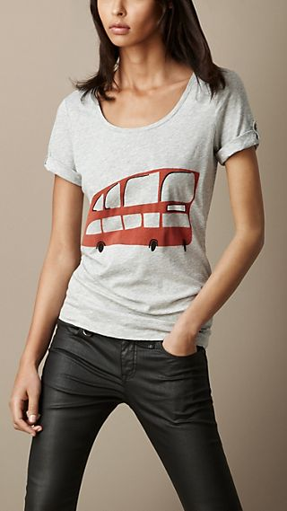 London Graphic Cotton T-Shirt