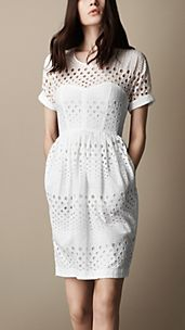 Broderie Anglaise Tulip Dress