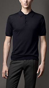 Merino Wool Polo Shirt
