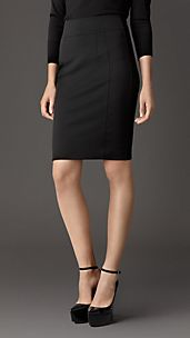 Corset-Jersey Pencil Skirt