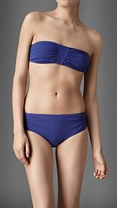 Gathered Bandeau Bikini