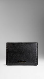 Patent London Leather iPad Case