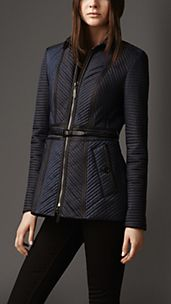 Ribbed Quilt Jacket
