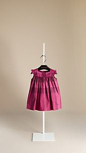 Check Ruffle Dress