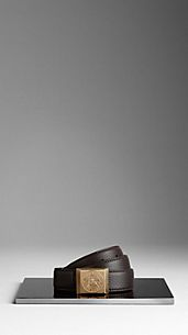 Heritage Buckle London Leather Belt