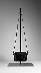 Patent London Leather Crossbody Bag