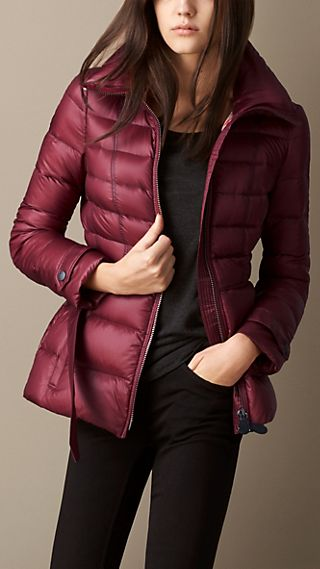 Channel Quilted Puffer Jacket
