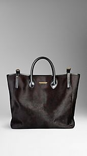 Animal Print Calfskin Tote Bag