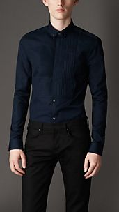 Slim Fit Bib Front Shirt