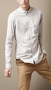 Camicia vichy button-down