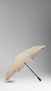 Border Detail Folding Umbrella