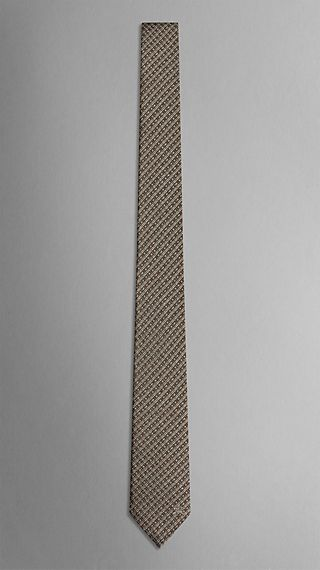 Tweed Stripe Silk Tie