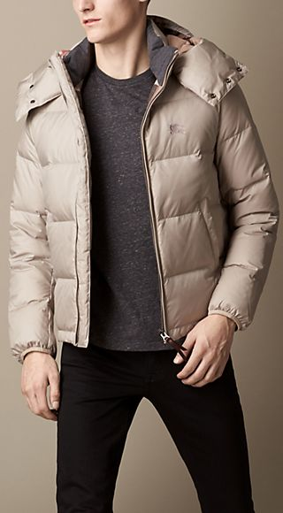 Down-Filled Hooded Puffer Jacket