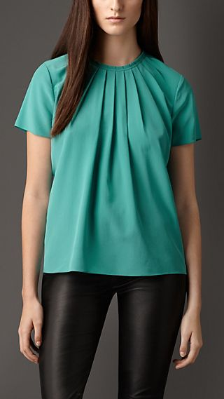 Structured Crepe Top
