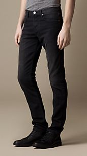 Shoreditch Black Wash Skinny Fit Jeans