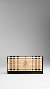 Haymarket Check Continental Wallet
