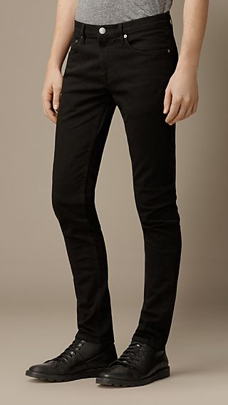 Armscote Black Super-Skinny Fit Jeans