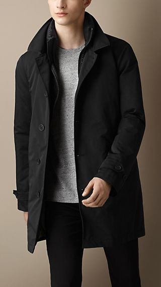 Detachable Warmer Technical Coat