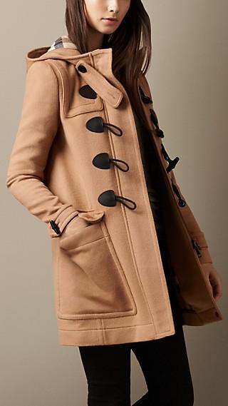 Straight Fit Duffle Coat