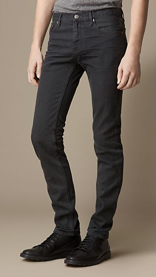 Shoreditch Sulphur Dyed Skinny Fit Jeans