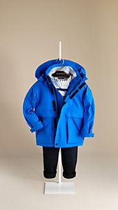 Seam Sealed Hooded Sailing Caban