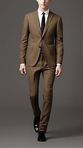 Modern Fit Cotton Suit