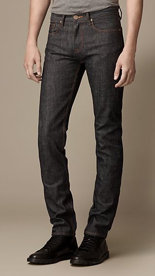 Shoreditch Raw Selvedge Skinny Fit Jeans