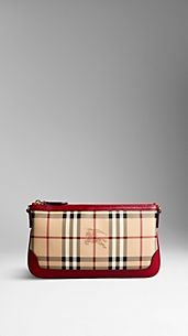 Haymarket Check Clutch Bag