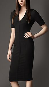 Seam Detail Fitted Dress