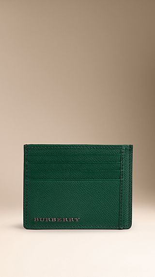Colour-Coated London Leather Card Case