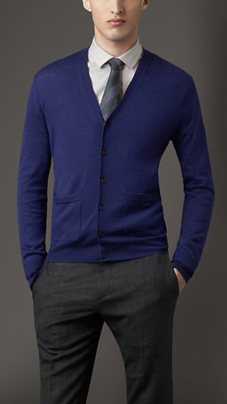 Double Cashmere Cardigan