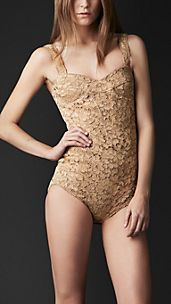 Lurex Embroidery Bodysuit