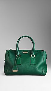 Large Heritage Grain Leather Tote Bag