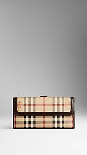 Haymarket Check Continental ID Wallet