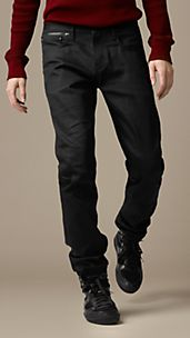 Sport Collection Coated Cotton Trousers