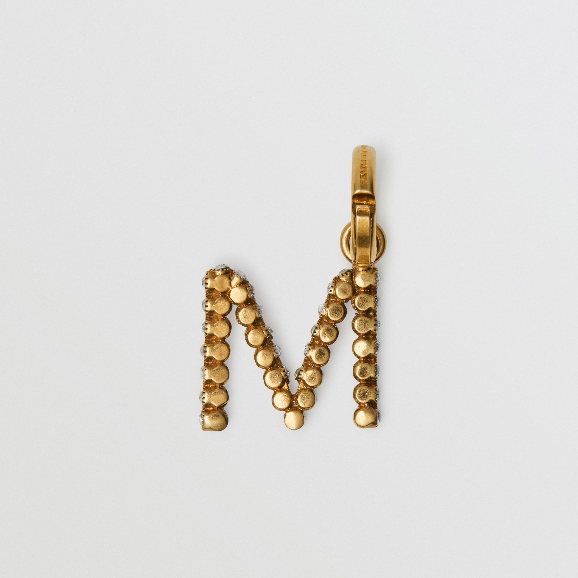 Crystal 'M' Alphabet Charm - Women | Burberry - gallery image 4