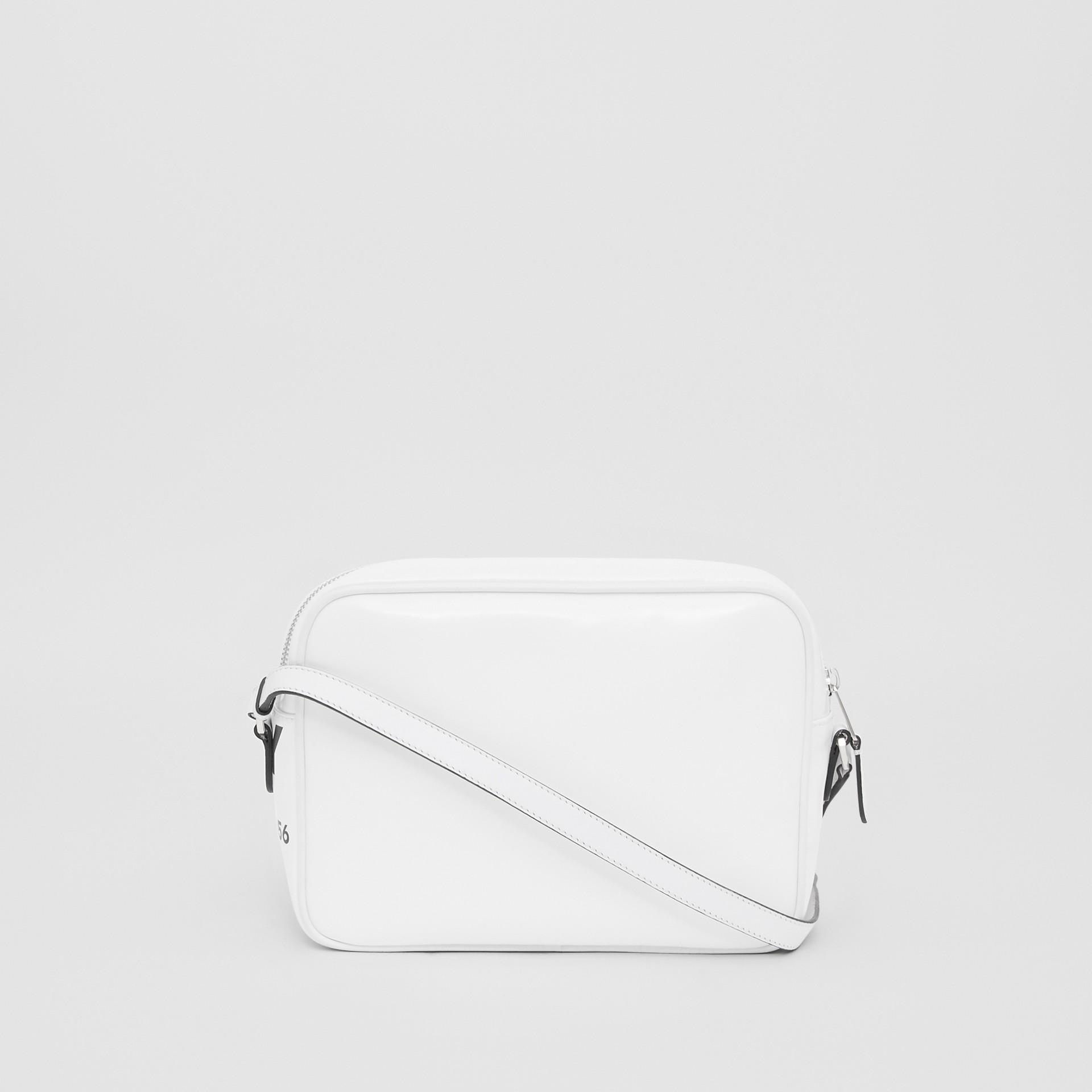 Medium Horseferry Print Camera Bag in White | Burberry - gallery image 9