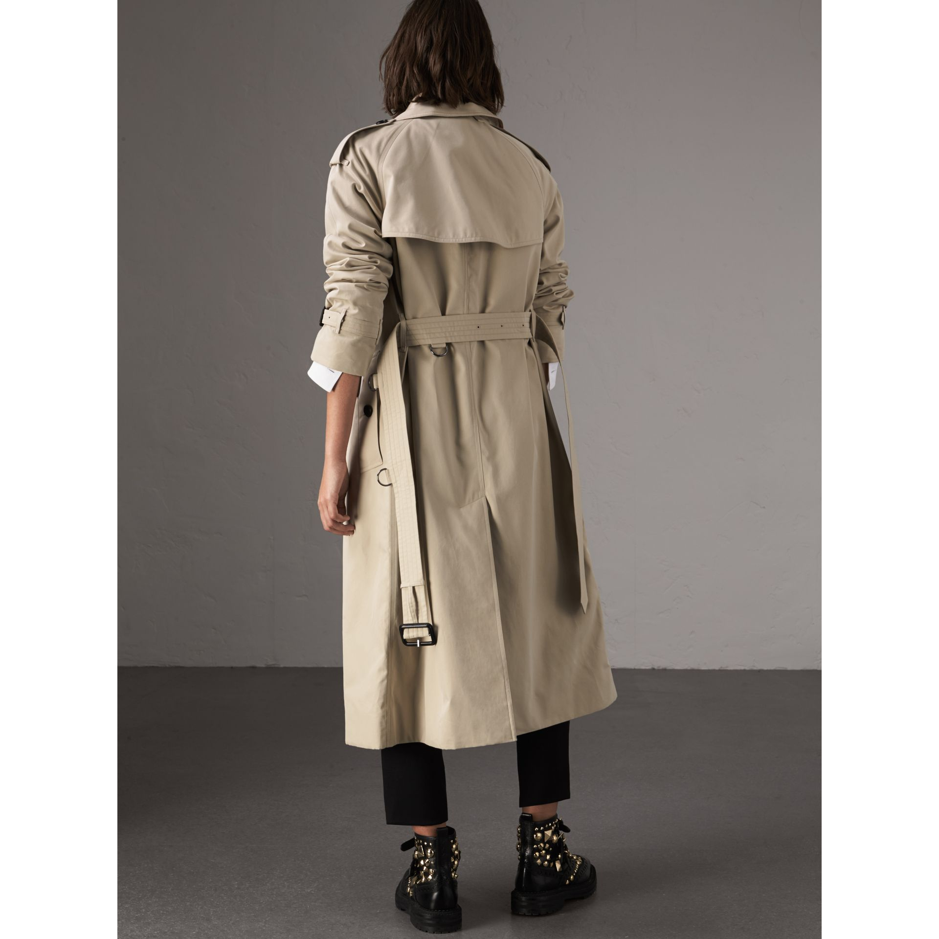The Westminster – Extra-long Trench Coat in Stone - Women | Burberry Australia - gallery image 3