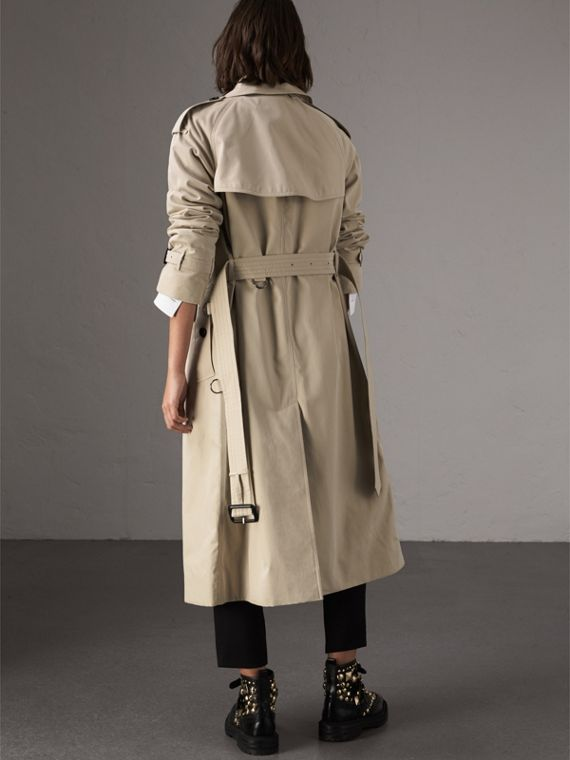 The Westminster - Trench coat extra lungo (Pietra) - Donna | Burberry - cell image 2