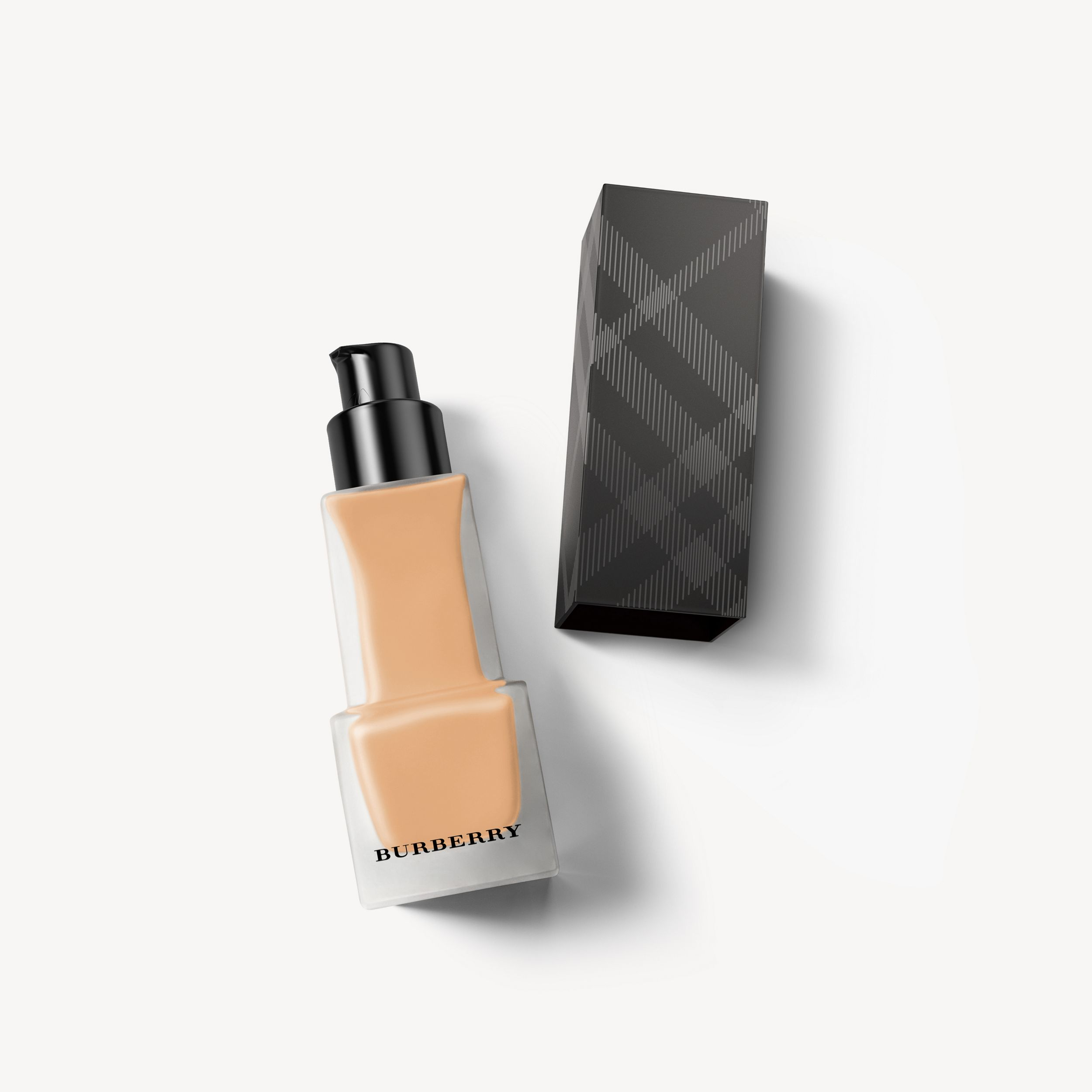 Matte Glow Liquid Foundation – 50 Medium Warm - Women | Burberry - 1