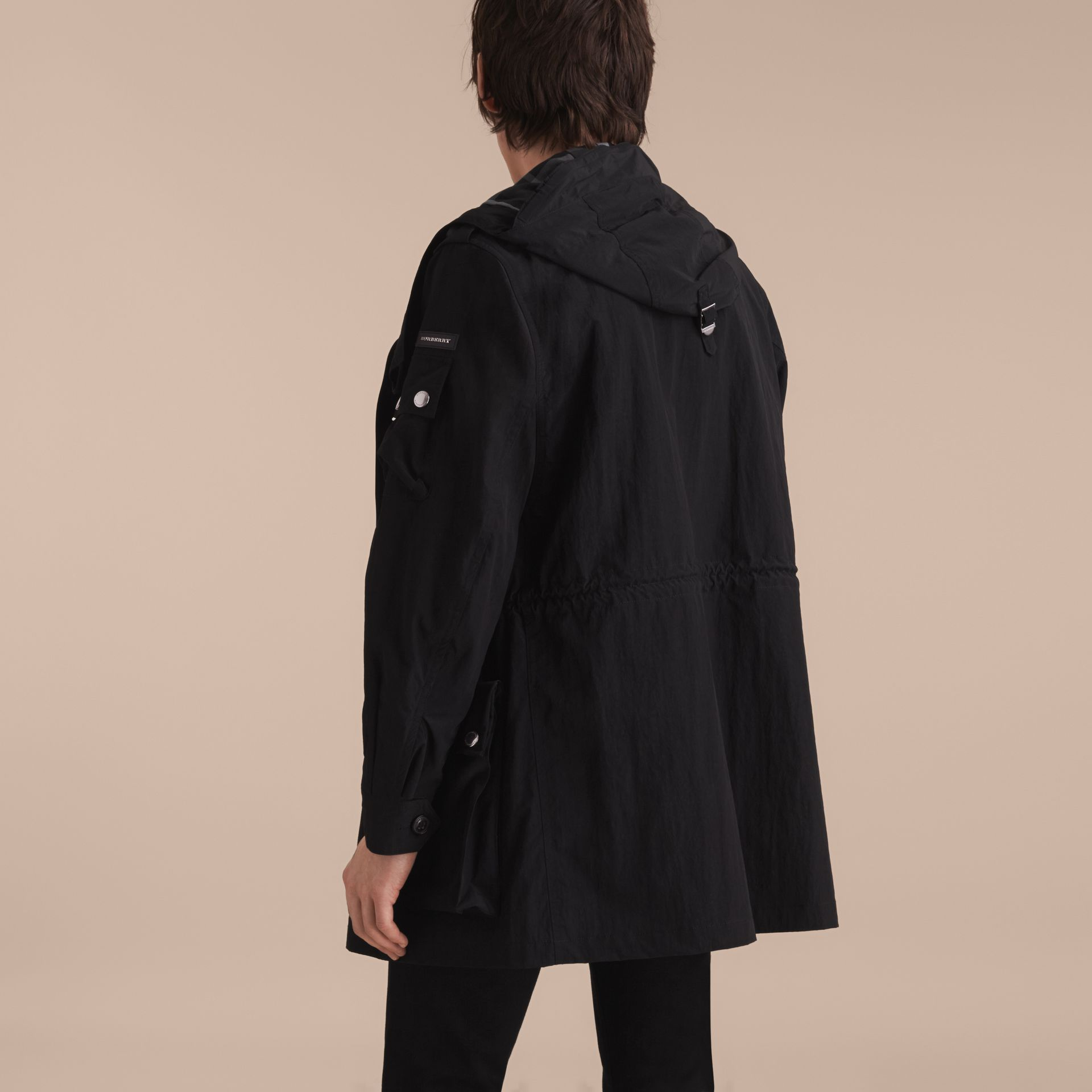 Hooded Technical Field Jacket - gallery image 3
