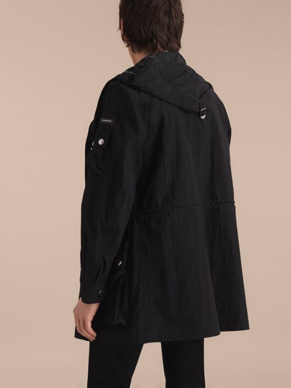 Hooded Technical Field Jacket - cell image 2