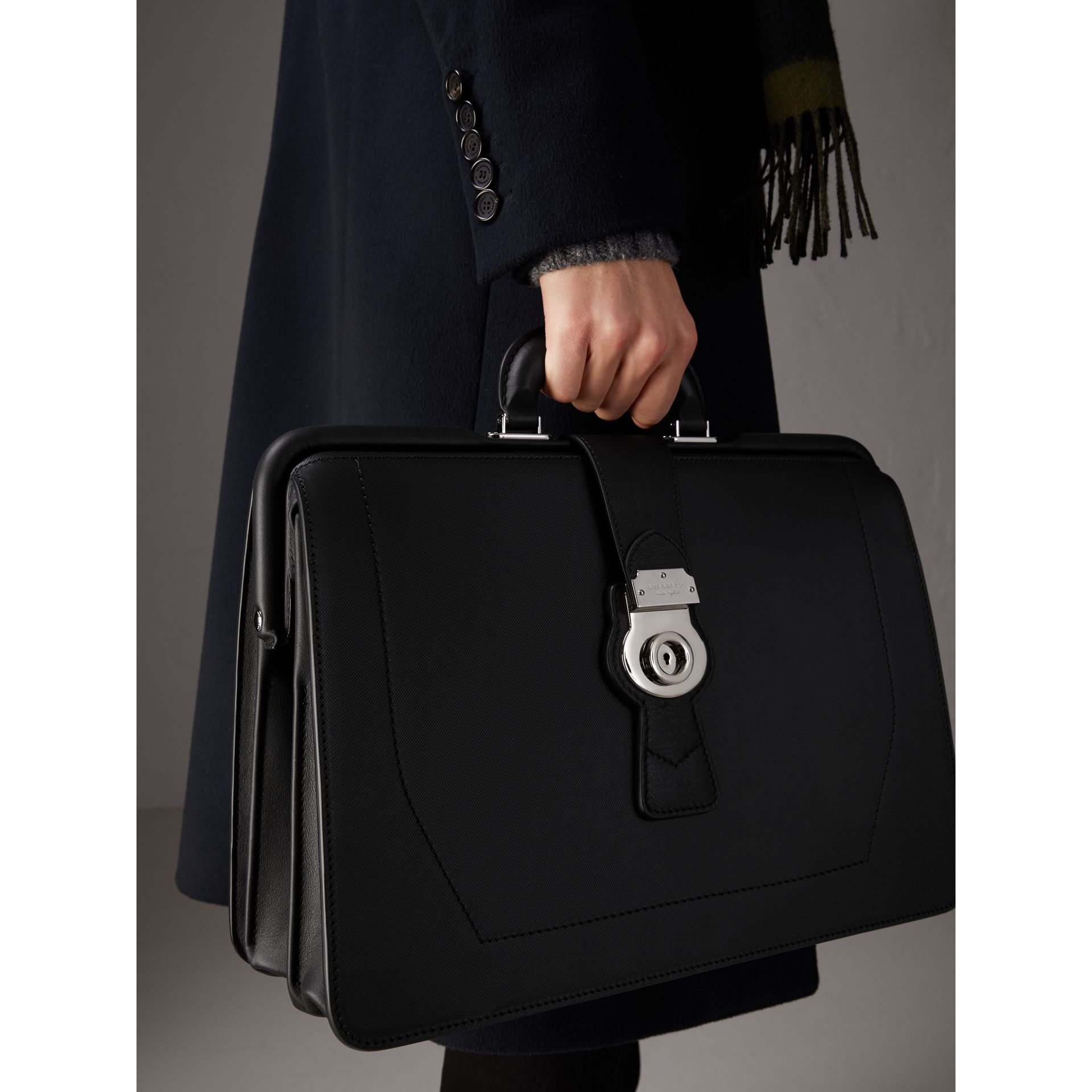 The DK88 Doctor's Bag in Black - Men | Burberry - gallery image 2