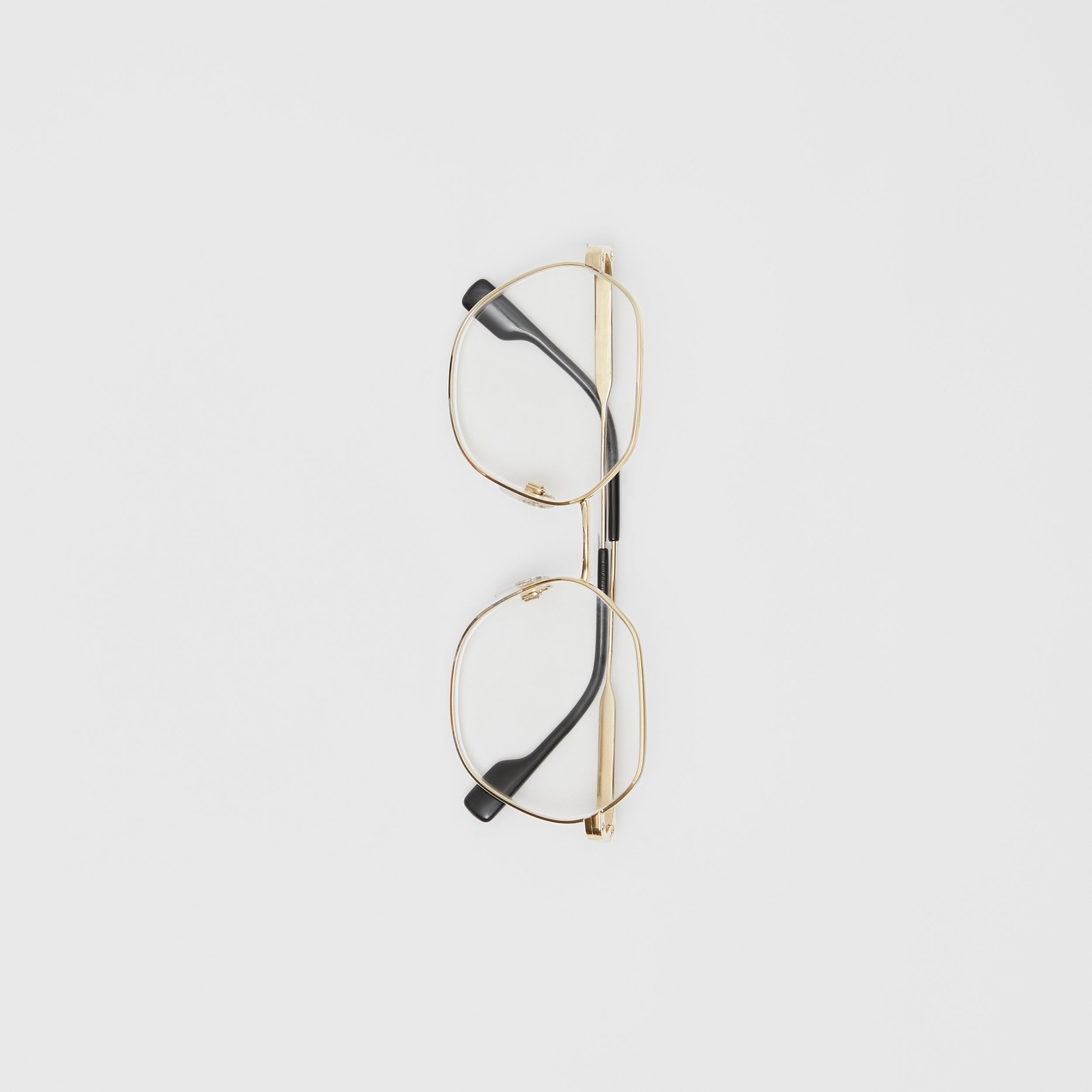 Geometric Optical Frames in Black - Women | Burberry - 4