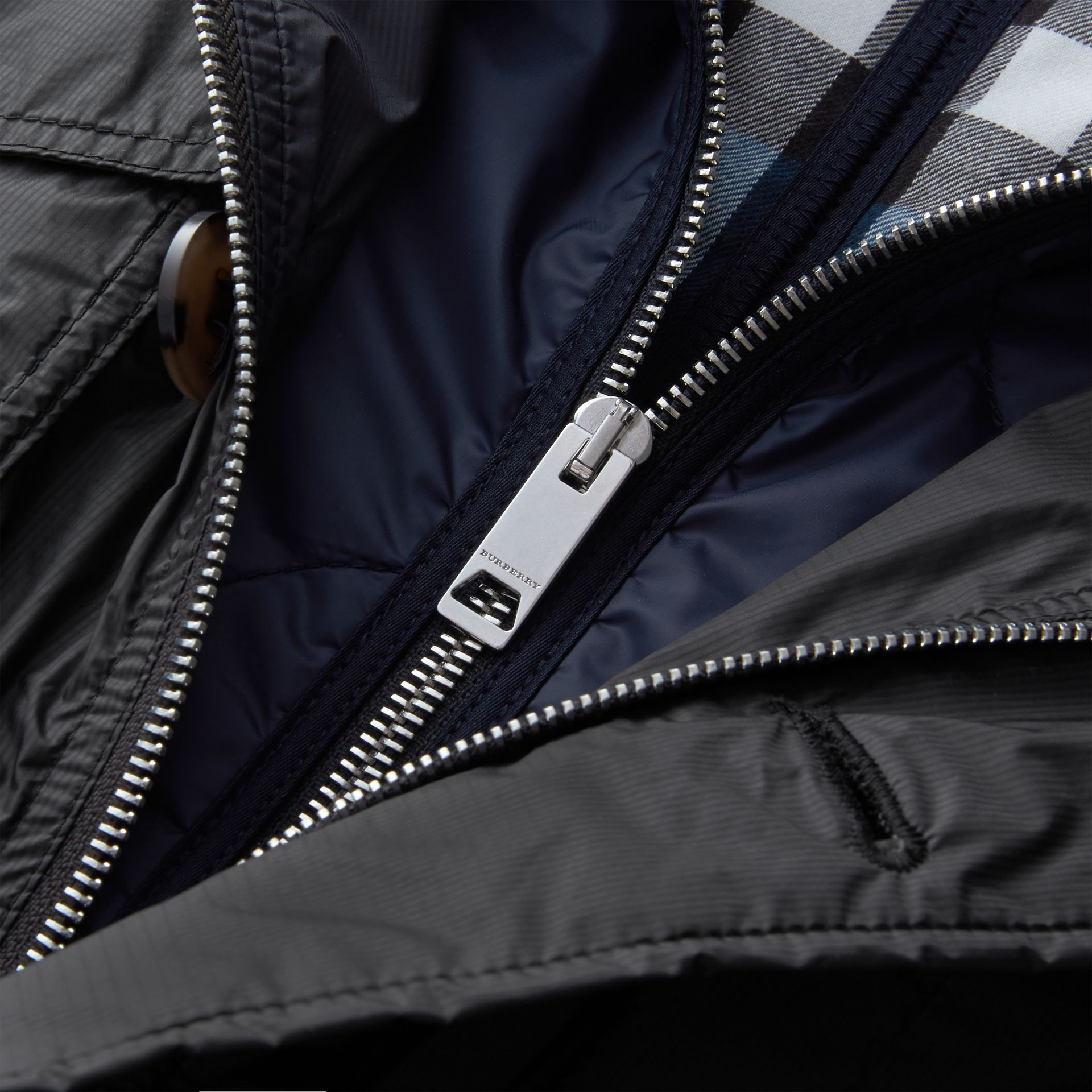 Lightweight Packaway Field Jacket with Detachable Gilet - gallery image 2
