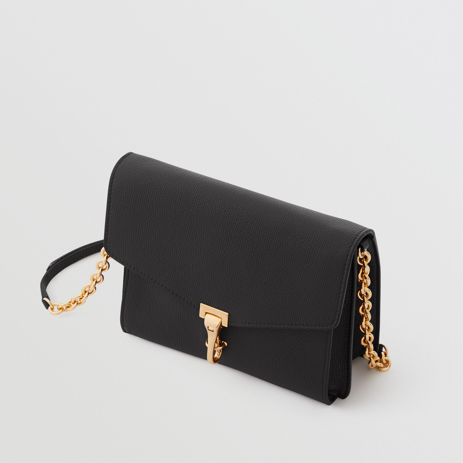 Small Leather Crossbody Bag in Black - Women | Burberry - gallery image 4