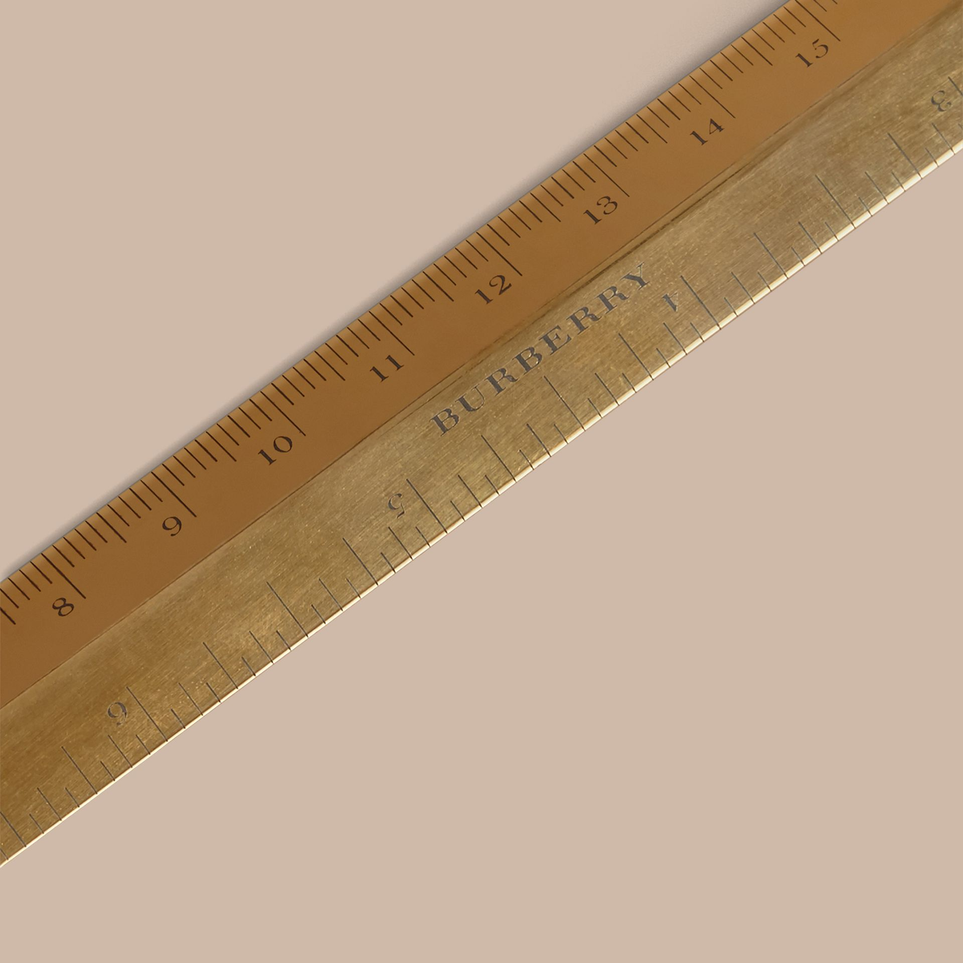 Brass Ruler | Burberry Australia - gallery image 1