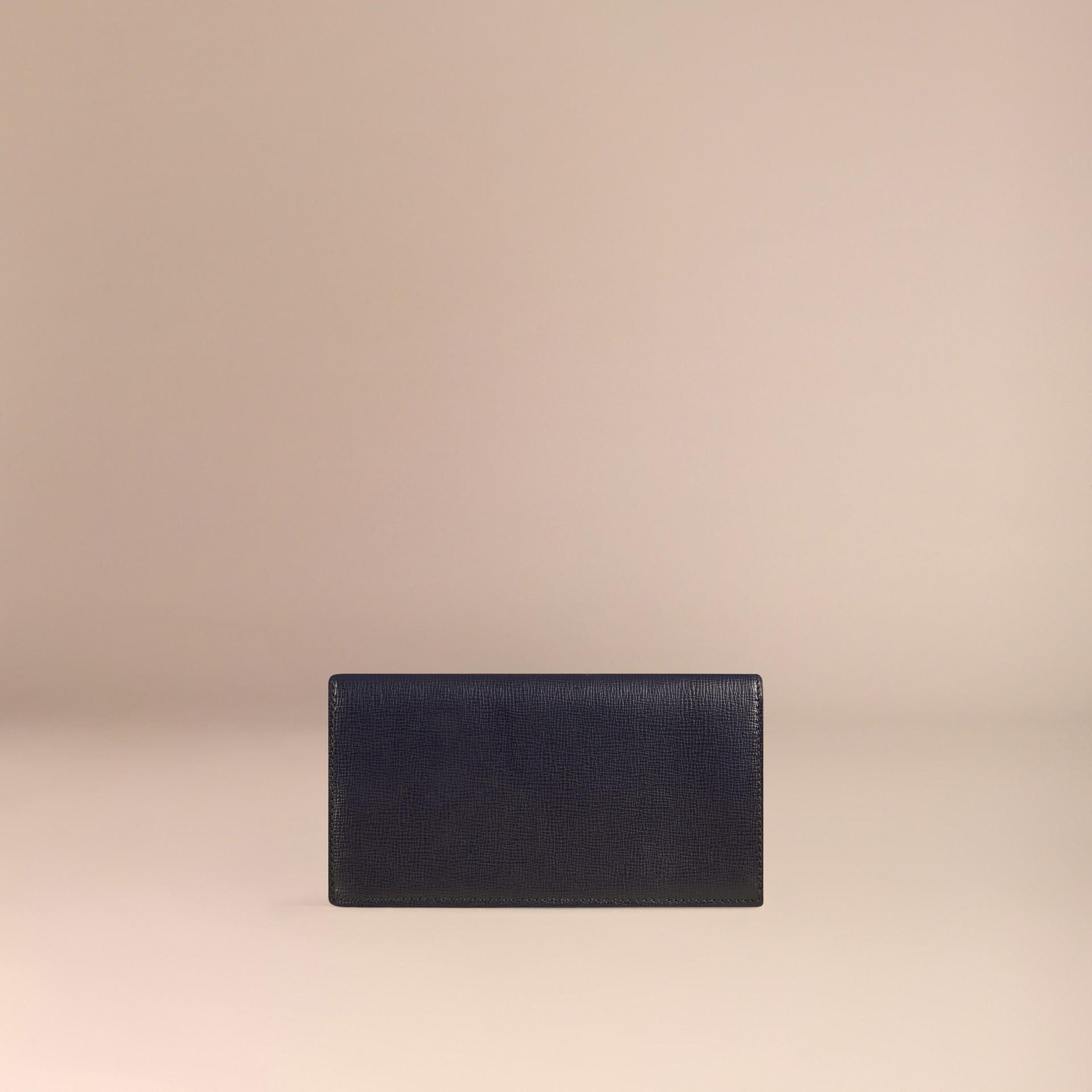 Dark navy London Leather Continental Wallet Dark Navy - gallery image 4