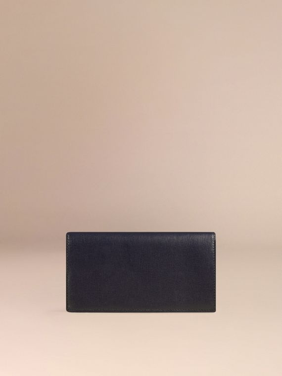 Dark navy London Leather Continental Wallet Dark Navy - cell image 3